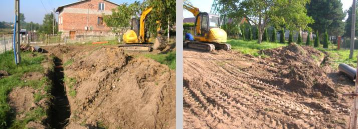 Rozpoczęcie budowy kanalizacji