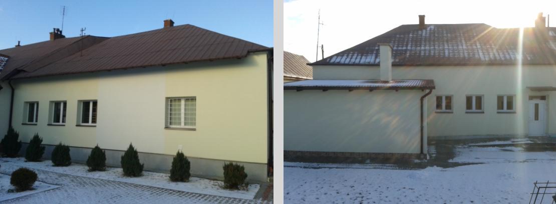 Ocieplenie budynku szkolnego 2013
