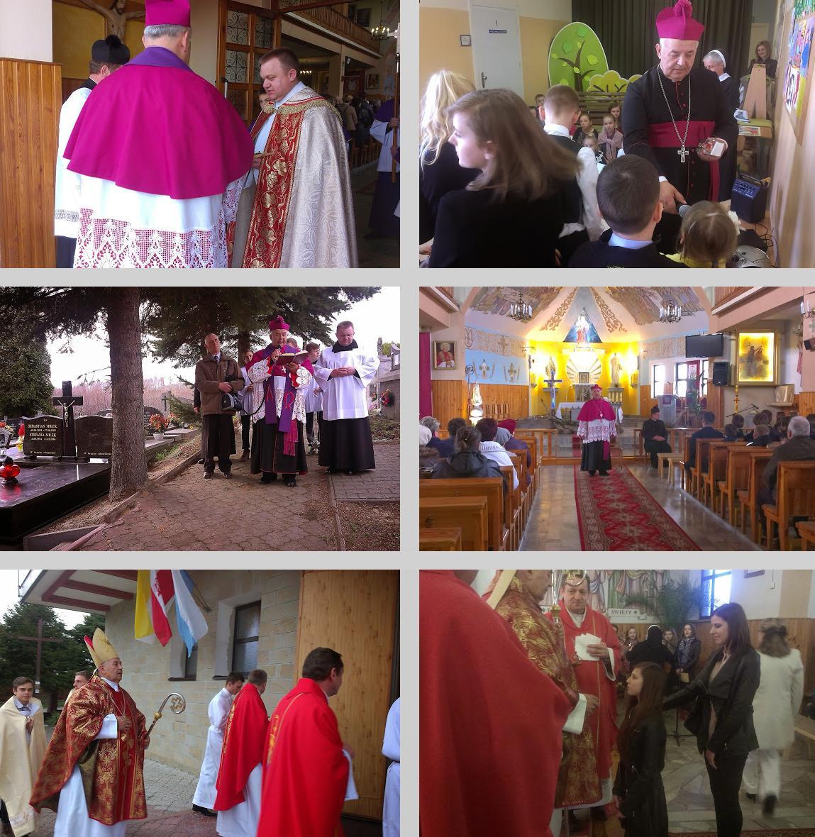 Wizytacja biskupia (26.03.2014)
